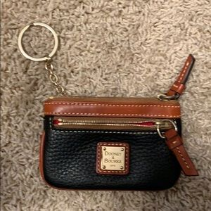 Dooney & Bourke Keychain Coin/ID Holder